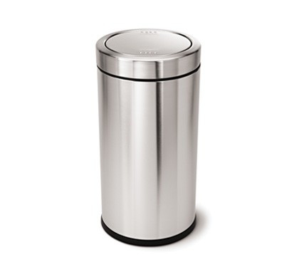 An image of simplehuman 55 Litre Round Swing Top Bin