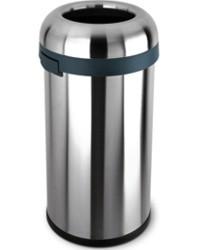 An image of simplehuman 60 Litre Round Open Top Bullet Bin