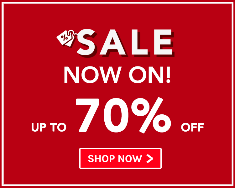 Up To 70% Off! Sale